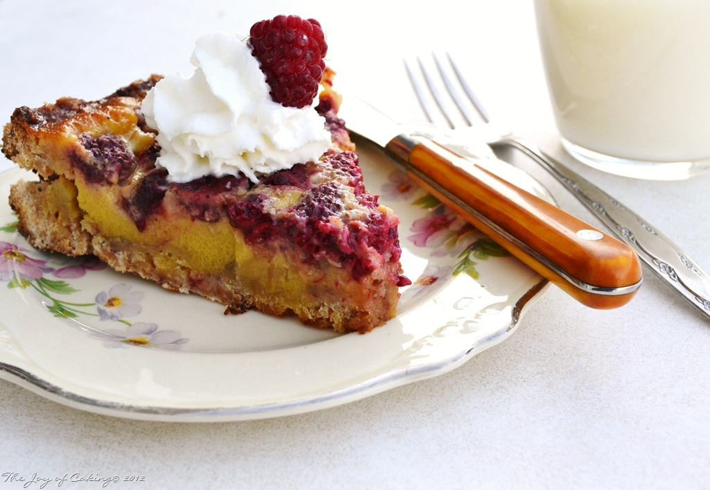 Red Raspberry Custard Pie with Vanilla Crumb Crust | THE JOY OF CAKING