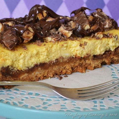 Snickers Cheesecake recipe