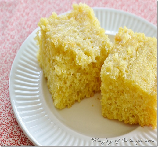 cornbread and blueberry cake 008