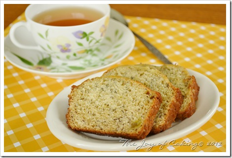 banana bread & tea 006