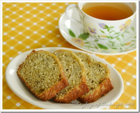 banana bread & tea 011