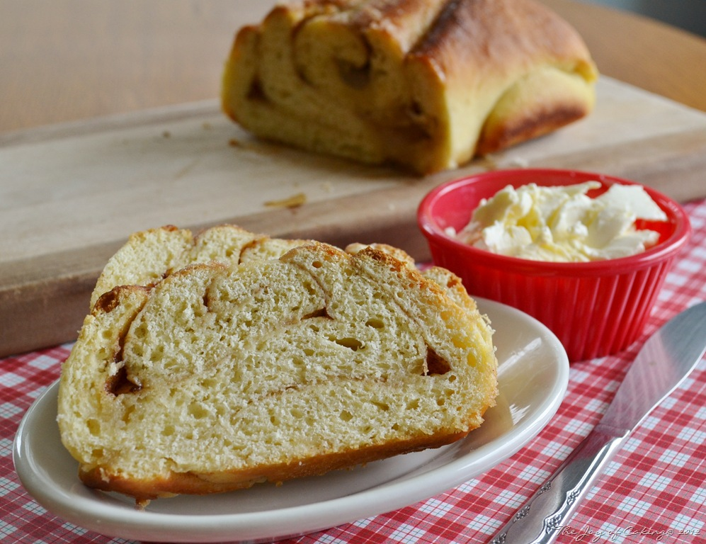 Homemade Cinnamon Bread–Just One Rise | THE JOY OF CAKING