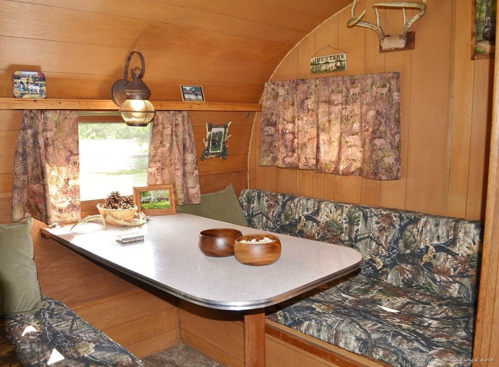 Interior Vintage Camper Photos The Joy Of Caking