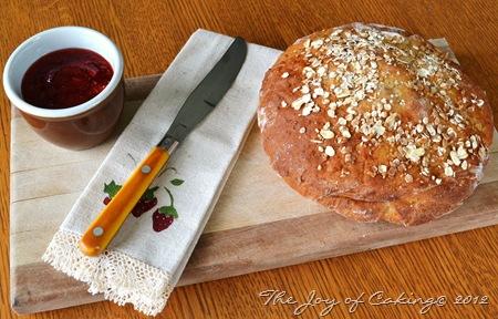 Rustic Oat Bread