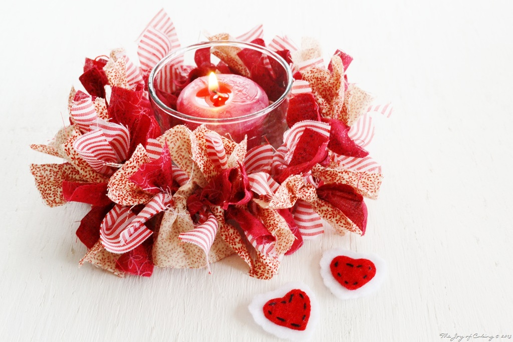 Country Candle Ring for Valentine's Day | THE JOY OF CAKING