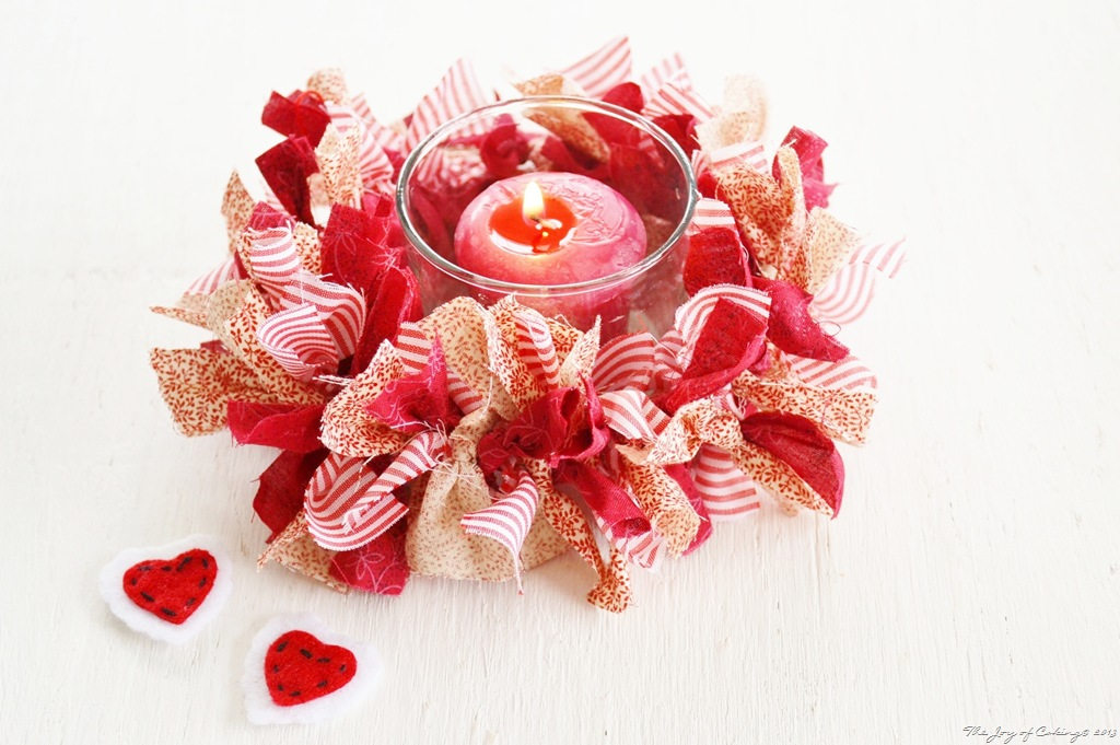 Country Candle Ring for Valentine's Day   THE JOY OF CAKING
