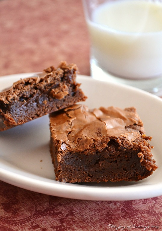 Triple Chocolate Brownies | THE JOY OF CAKING