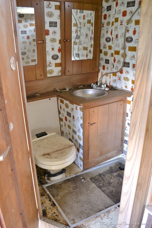 Camper Bathroom Remodel The Joy Of Caking
