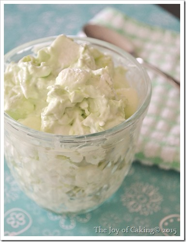 Easy to make pistachio salad - a picnic favorite